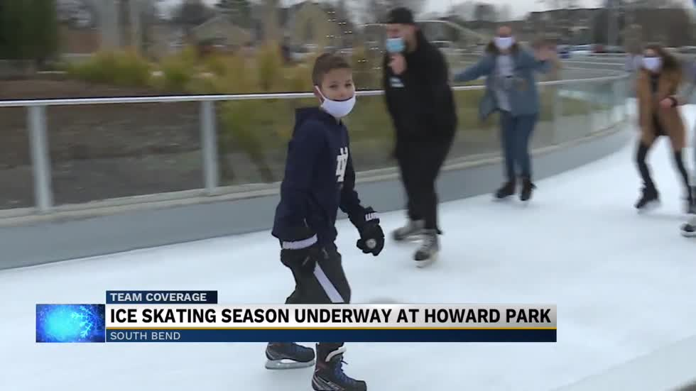 After weather delays, Howard Park opens Ice-Skating Rink for...